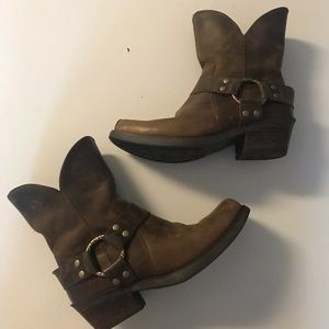Ariat Brown Leather Booties